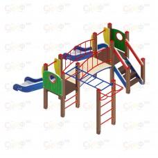 Детский игровой комплекс «Карапуз»  ДИК 1.001.04 H=750