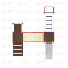 Детский игровой комплекс «Карапуз» ДИК 1.001.05 H=750