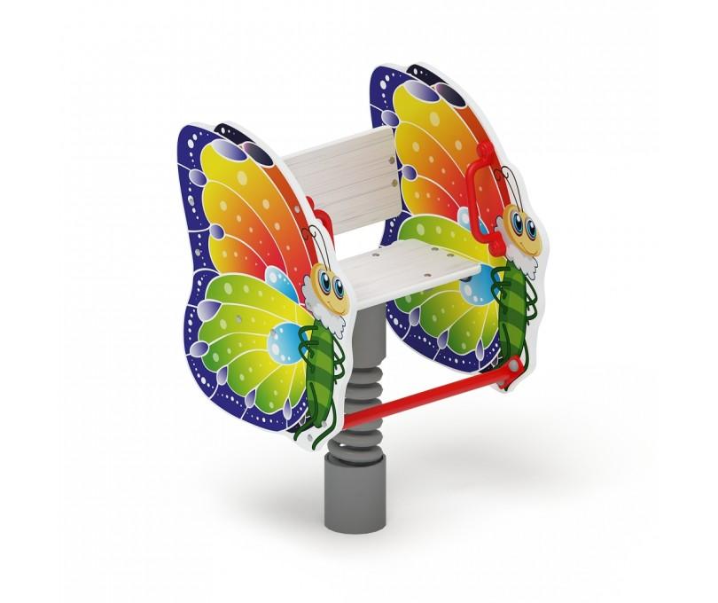 Качалка на пружине Бабочка ИО 22.01.01-01
