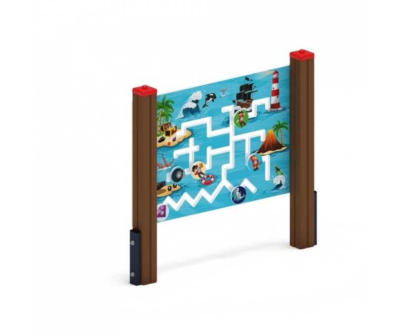 МФ 22.01.01-05 Игровая панель. Сундучок пирата