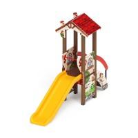 Детский игровой комплекс «В гостях у сказки» ДИК 1.05.01-02 H=900
