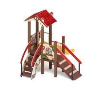 Детский игровой комплекс «В гостях у сказки» ДИК 1.05.01-03 H=900