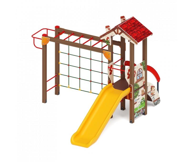Детский игровой комплекс «В гостях у сказки» ДИК 1.05.01-04 H=900