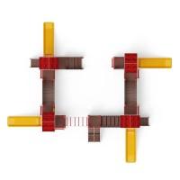 Детский игровой комплекс «В гостях у сказки» ДИК 1.05.01-10 H=900