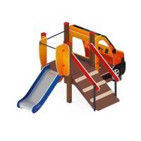 Детский игровой комплекс «Машинка с горкой 4» ДИК 1.03.1.04-01 Н 750
