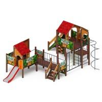Детский игровой комплекс «Теремок» ДИК 2.07.03-01 H=1200, H=750