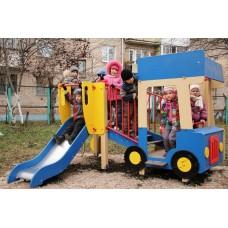 Детский игровой комплекс «Грузовичок» ДИК 1.03.2.02 H=750
