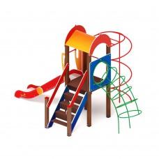 Детский игровой комплекс «Играйте с нами» ДИК 2.01.1.04 H=1200