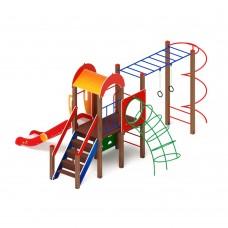 Детский игровой комплекс «Играйте с нами» ДИК 2.01.1.08 H=1200