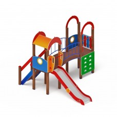 Детский игровой комплекс «Рада» ДИК 2.01.2.05 H=1200