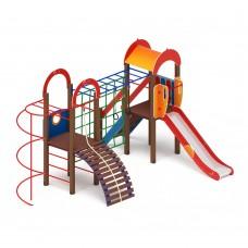 Детский игровой комплекс «Рада» ДИК 2.01.2.07 H=1200