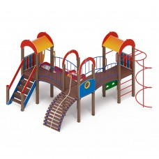 Детский игровой комплекс «Городок» ДИК 2.01.3.03 H=1200