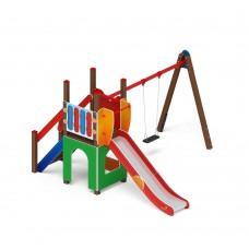 Детский игровой комплекс «Счастливое детство» ДИК 2.01.01 H=1200