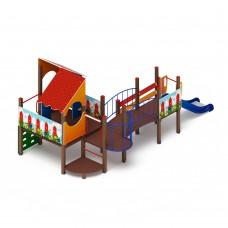 Детский игровой комплекс «Теремок» ДИК 1.07.01 H=900