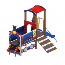 Детский игровой комплекс «Паровозик» ДИК 1.03.5.01 H=750