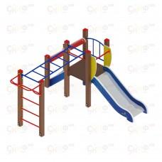 Детский игровой комплекс «Карапуз» ДИК 1.001.02 H=750