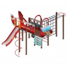 Детский игровой комплекс «Аэроплан» ДИК 2.03.4.02 H=1200