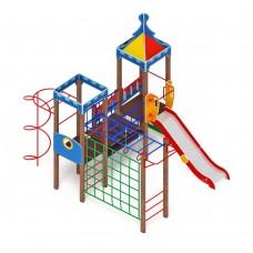 Детский игровой комплекс «Волшебный город» ДИК 2.19.05 H=1500