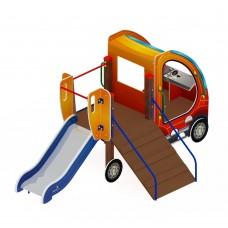 Детский игровой комплекс «Машинка с горкой 4» ДИК 1.03.1.04 Н 750